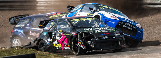 Solberg Was Straight In The Thick Of The Action In 2013 - Credit: Matt Bristow