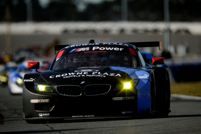 BMW GTLM class representatives continued to struggle at Daytona (Credit: BMW AG)