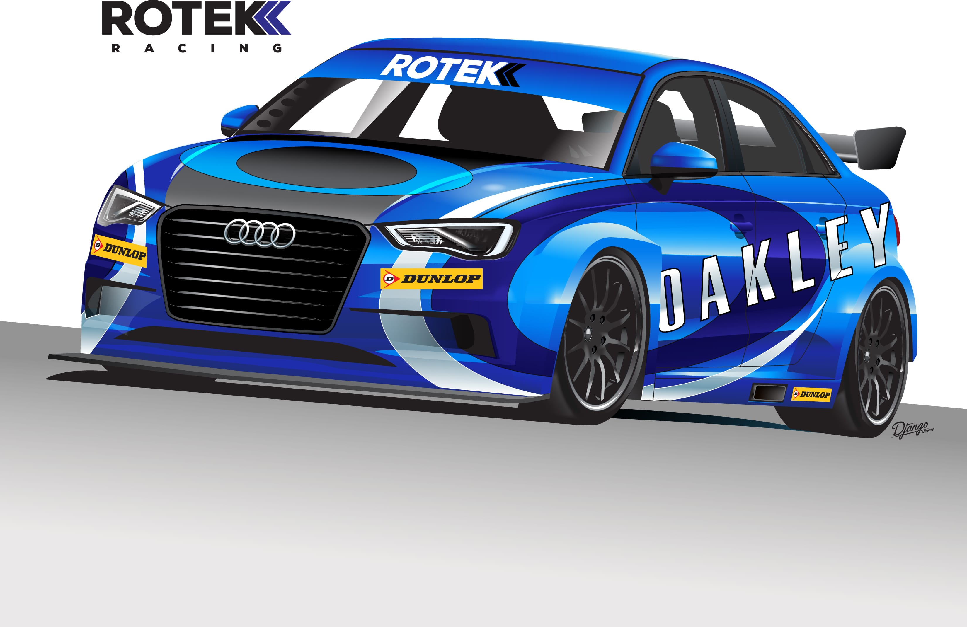 Holland To Front Rotek Audi S3 BTCC Assault - The Checkered Flag