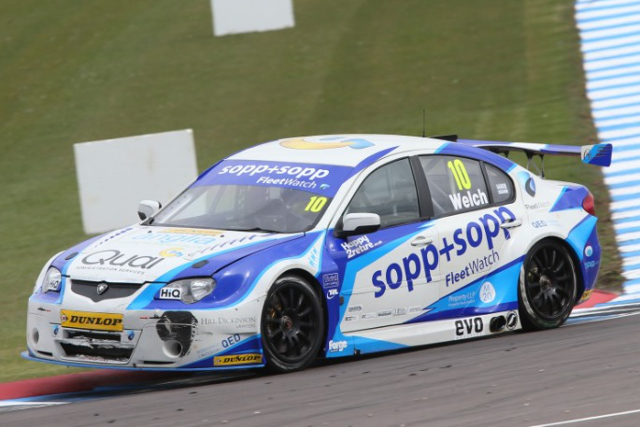 Welch Motorsport - Credit: btcc.net