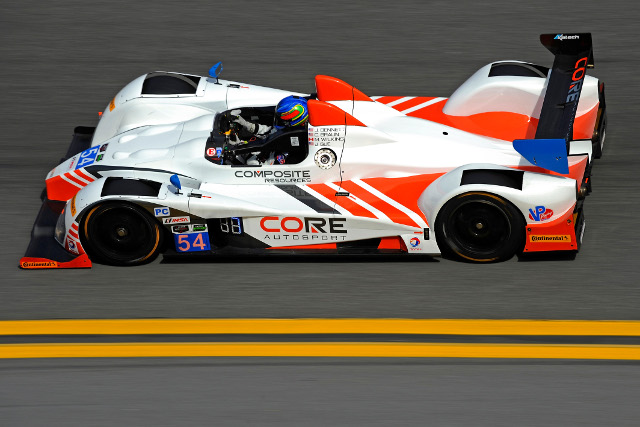 Colin Braungave CORE pole on their Daytona debut (Courtesy of IMSA)