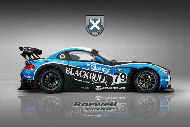 The Ecurie Ecosse BMWs will carry a new livery for 2014 (Image Credit: Barwell Motorsport)
