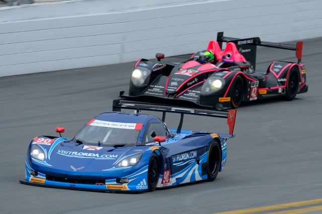Westbrook, Spirit of Daytona and DP Corvette were quickest (Courtesy of IMSA)