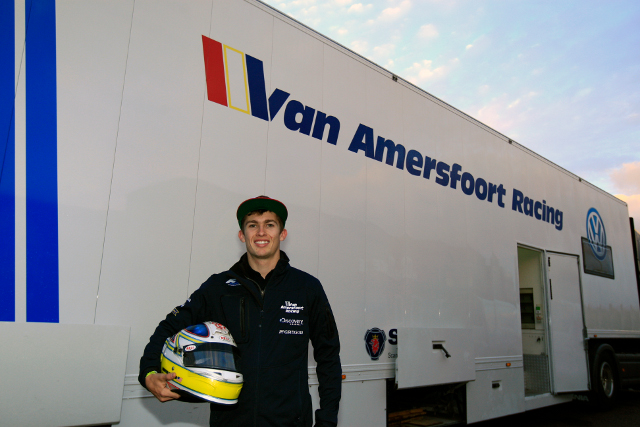 Menezes moves into the F3 Europeans Championship after a season in formula in Germany (Credit: Van Amersfoort Racing)