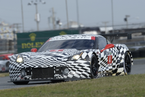 ....for the new Corvette C7.R at Daytona (Courtesy of IMSA)