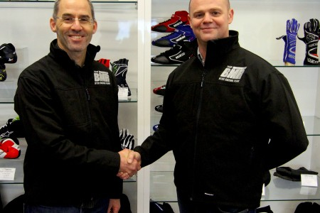 Menu (l) and Scott (r) will team up for 2014 (Photo: Team BMR)