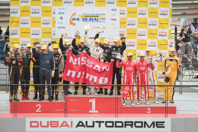 Nissan teams took first and third in their class (Credit: Nissan Motorsport)