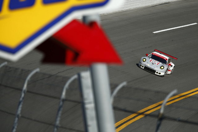 Porsche North America were on point at Daytona (Credit: Porsche AG)