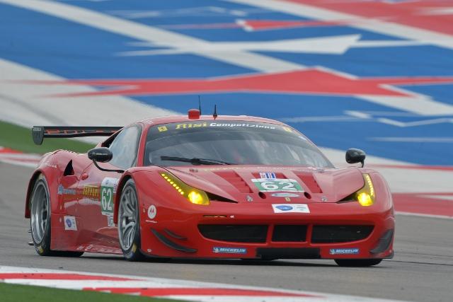 Matteo Malucelli and Giancarlo Fisichella will lead Risi's TUDOR Championship challenge (Credit: Kelsi Nilsson)