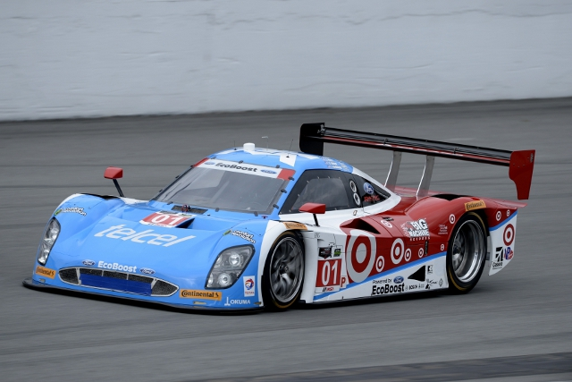 Ganassi's #01 was fastest, but ended the day heading home (Credit: IMSA.com)
