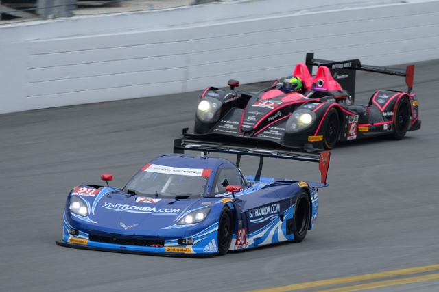 Spirit of Daytona Racing were fastest in the second of the day's sessions (Credit: IMSA.com)