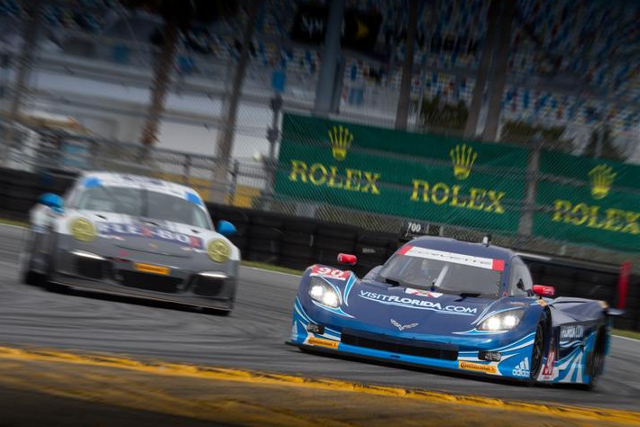 Spirit of Daytona Racing were fastest in both the Sunday sessions at daytona (Credit: Rolex/Stephan Cooper)