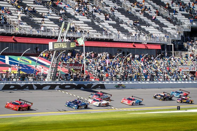 2014 Rolex 24 at Daytona (Credit: Rolex/Stephen Cooper)