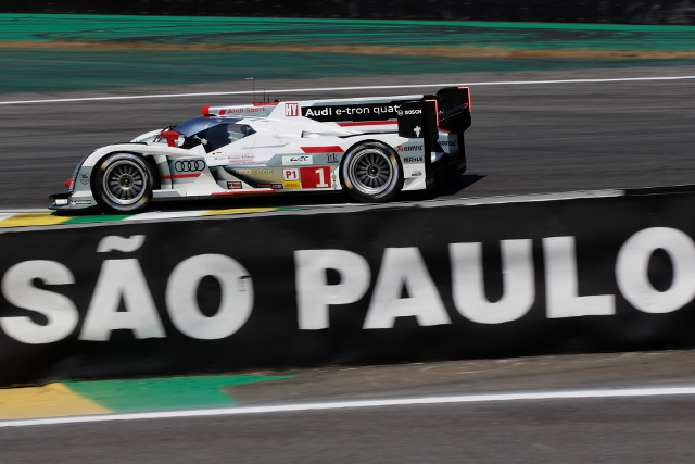 The WEC will arrive at Sao Paulo for a November 30 race (Credit: Audi Motorsport)