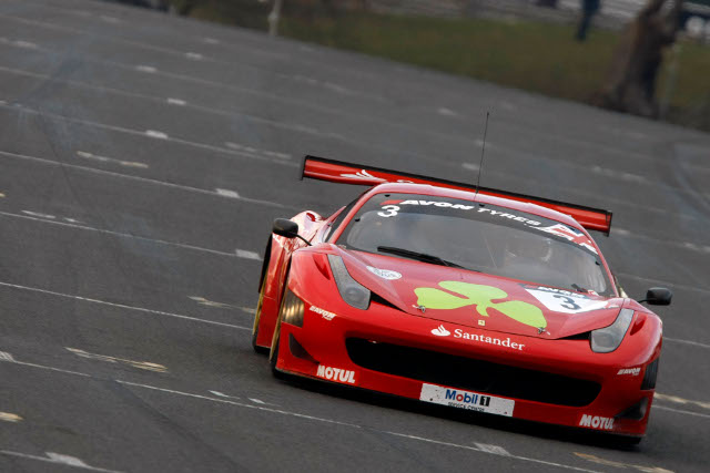 The shamrock Ferrari will be back for the 2014 season (Credit: Jakob Ebrey Photography)