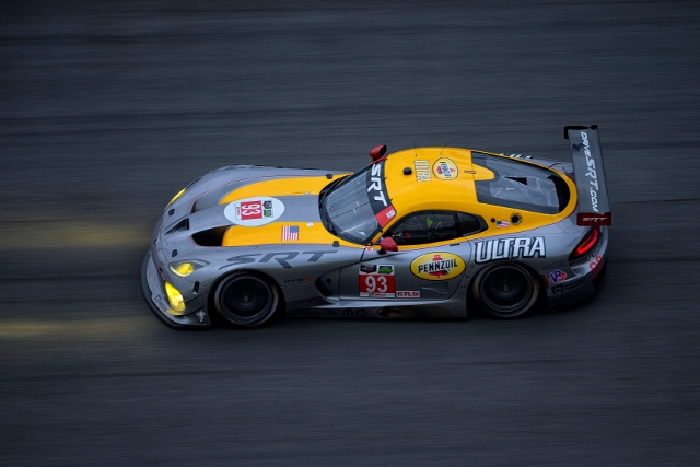 Two SRT Vipers will contested the GTLM class at Daytona (Courtesy of IMSA)