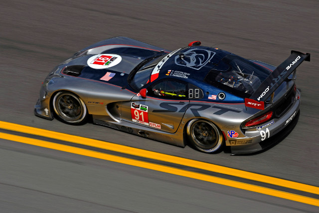SRT Vipers will start first and third in GTLM (Courtesy of IMSA)