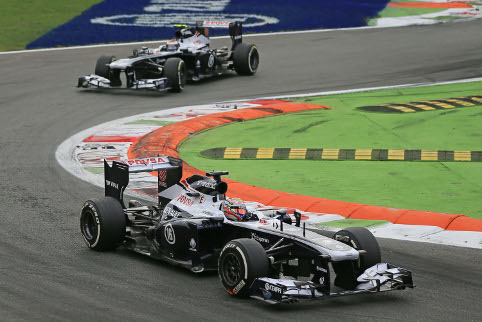 Can Williams step back up the grid in 2014 (Credit: Octane Photographic Ltd)