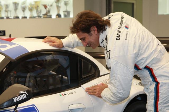 Zanardi will join Roberto Ravaglia's ROAL Motorsport team (Credit: SRO Motorsports Ltd)