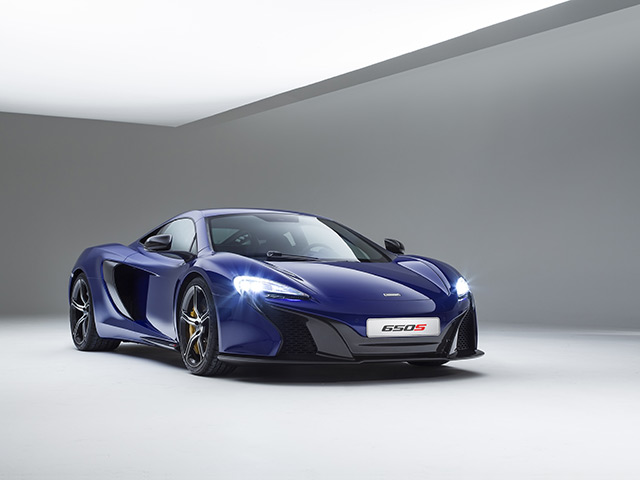 First Look At The New McLaren 650S Supercar