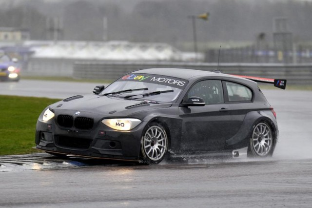 BTCC BMW test 2014 Thruxton