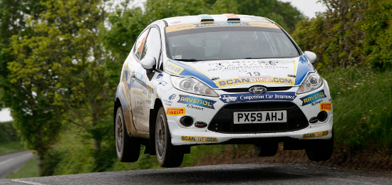 McKenna In Action In His Ford Fiesta R2 - Credit: Jakob Ebrey Photography