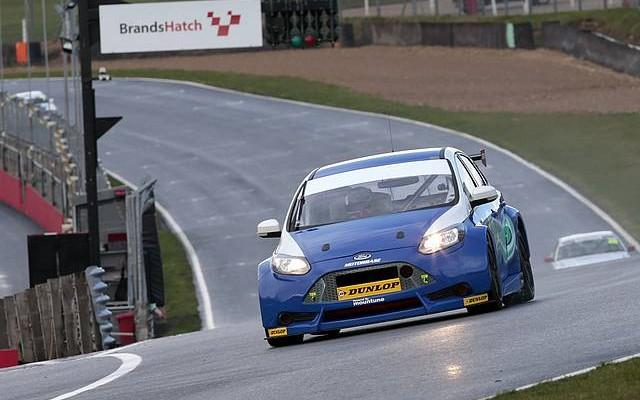 Giovanardi began testing for Motorbase at Brands Hatch (Photo: Gary Hawkins)