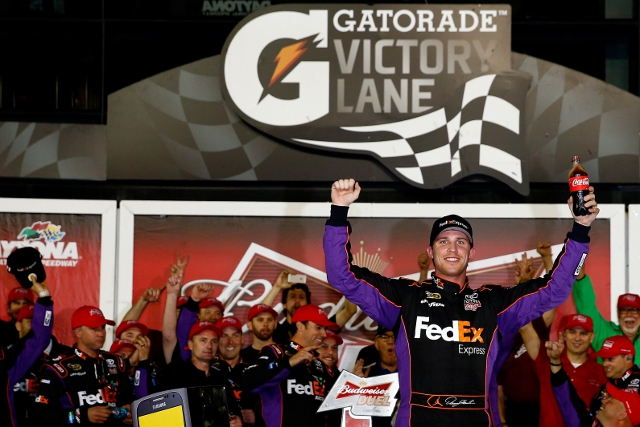 Hamlin added Duel glory to his Sprint Unlimited win (Credit: Tom Pennington/Getty Images)