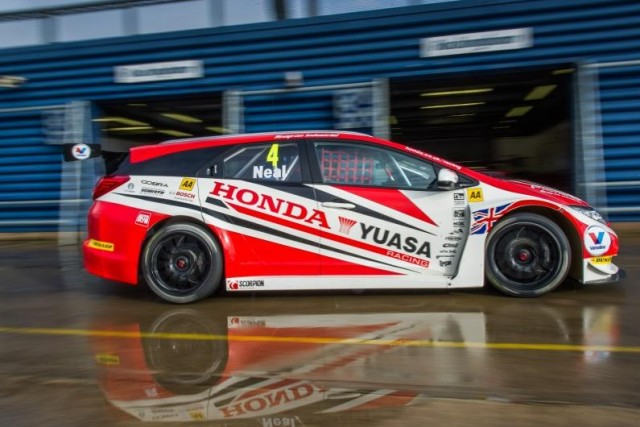 ...while Honda continued to home their Civic Tourer (Photo: Paul Harmer Photography)