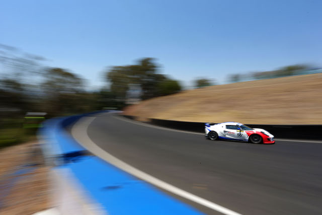 Motionsport's Bathurst weekend ended early (Credit: Race Torque Media)
