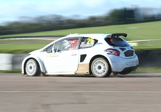 Albatec Racing - Rallycross Test Day - 22nd February 2014