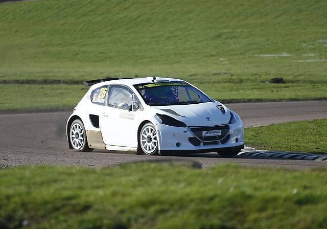 Albatec Racing - Rallycross Test Day - 22nd February 2014