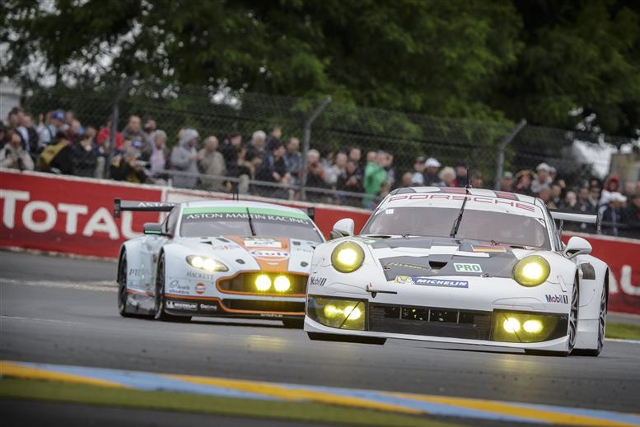 Old rivalries are renewed for Le Mans in the GTE ranks (Credit: Rolex/Jad Sherif)