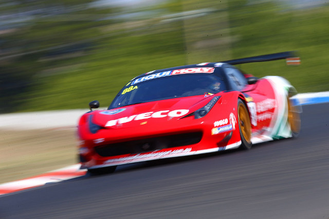 Salo snatched provisional pole as the session ended (Credit: Race Torque Media)
