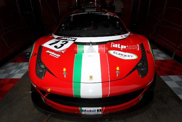 AF Corse will have two cars for the full British season in 2014 (Credit: Jakob Ebrey)
