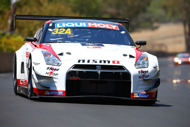 Bathurst rookie Buncombe led the first combined practice (Credit: Race Torque Media)