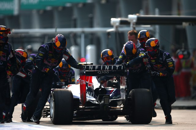 Daniel Ricciardo, Malaysian Grand Prix, Red Bull Pitstop