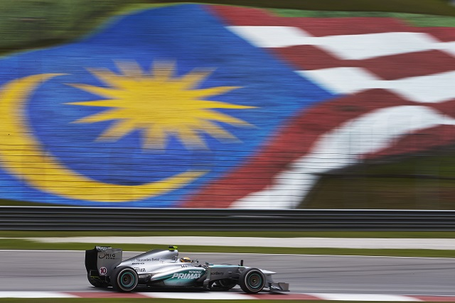 Will Lewis Hamilton take centre stage at Sepang this year (Photo Credit: Mercedes AMG Petronas)
