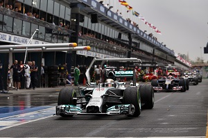 (Photo Credit: Mercedes AMG Petronas)
