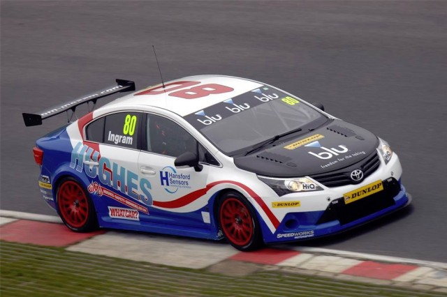 Brands test BTCC 2014 Ingram