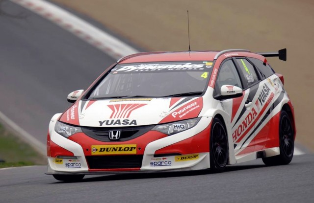 Brands test BTCC 2014 Neal
