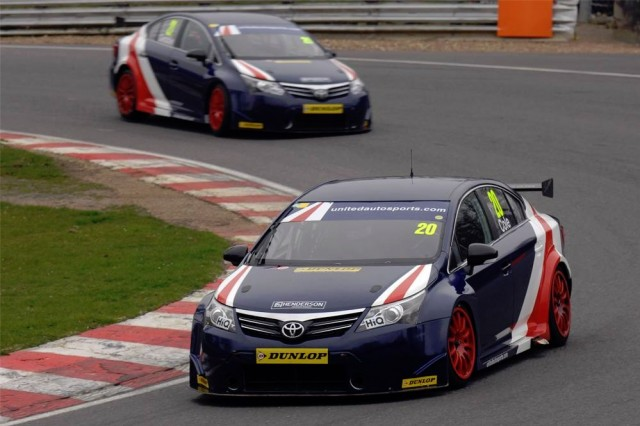 Brands test BTCC 2014 United Autosports