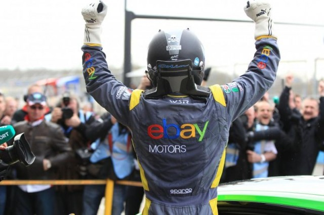 Colin Turkington 2013 race win BTCC