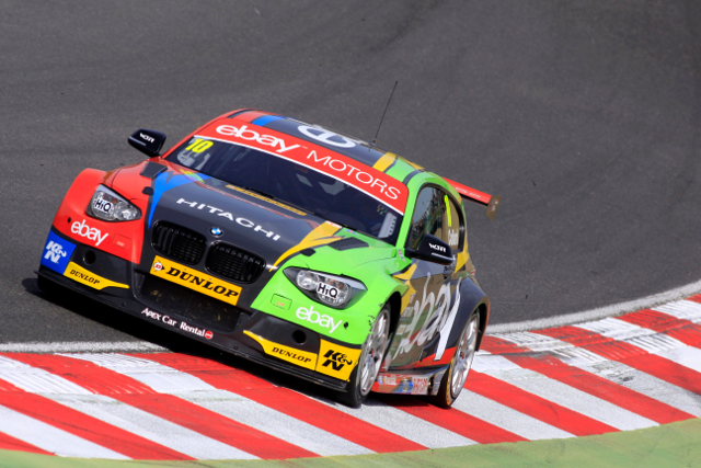 Wheels on kerb OK, wheels over kerb not OK (Credit: btcc.net)