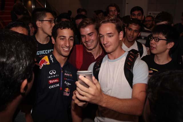 Daniel Ricciardo Day In Melbourne