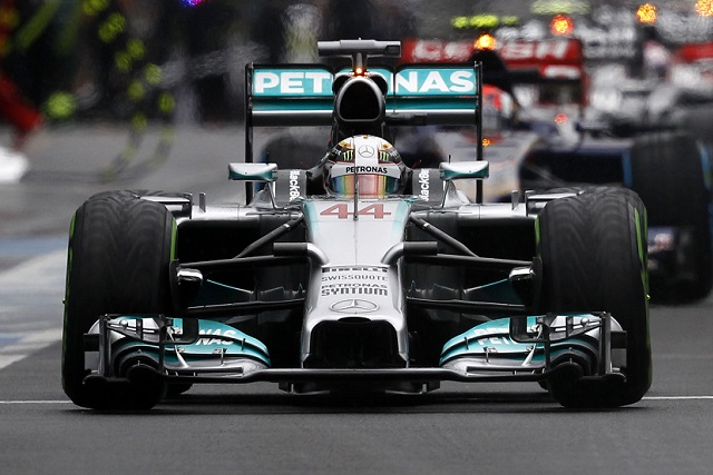Lewis Hamilton - Photo Credit: Mercedes
