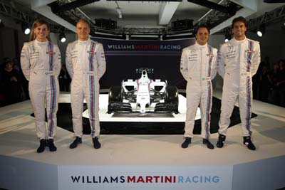 (Credit: Williams Martini Racing)