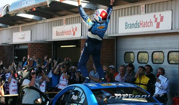 Plato 2010 title Chevy win BTCC