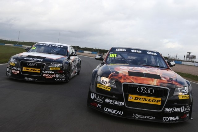Rob Austin Racing Audis BTCC 2014