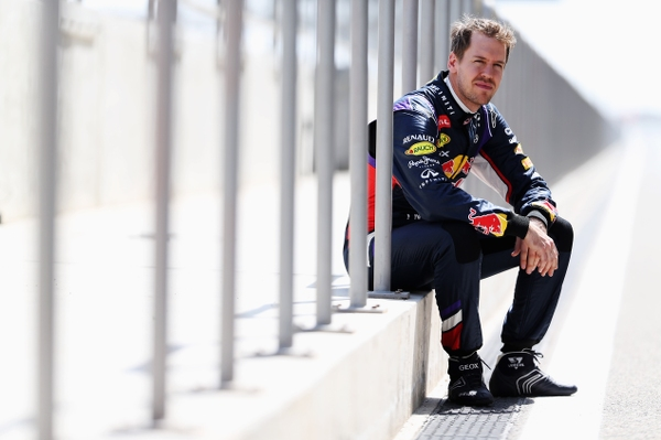 Vettel hasn't had much driving time this winter (Mark Thompson/Getty Images)